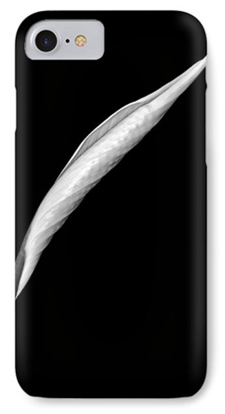 Peace Lily II Phone Case by Jeff Burton