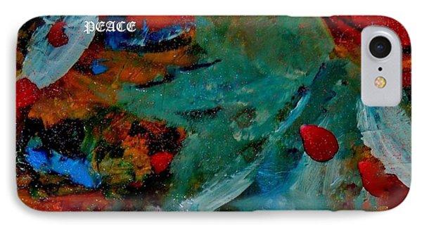Peace IPhone Case by Lisa Kaiser