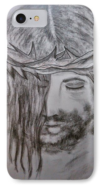 IPhone Case featuring the drawing Peace by Lori  Lovetere