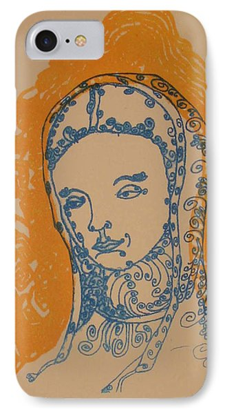 Peace Of Madonna IPhone Case by Stephen Wiggins
