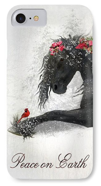 Cardinal iPhone 7 Case - Peace On Earth by Fran J Scott