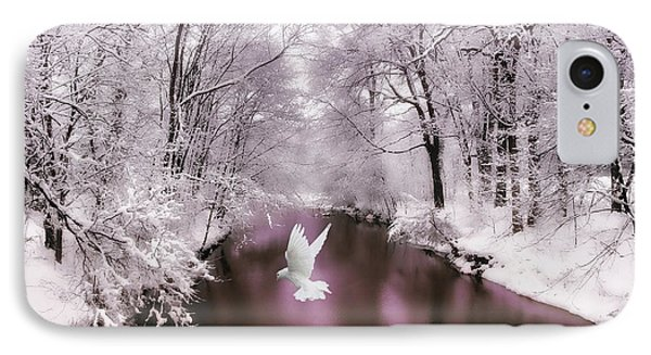 Peace On Earth   IPhone 7 Case by Jessica Jenney