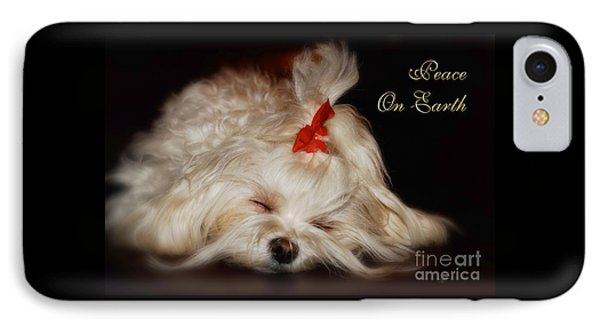 Peace On Earth IPhone Case by Lois Bryan