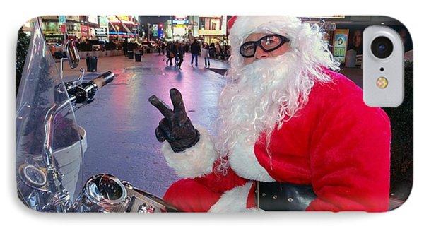 Peace Santa Phone Case by Ed Weidman
