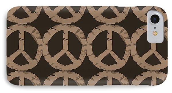 Peace Symbol Collage Phone Case by Michelle Calkins