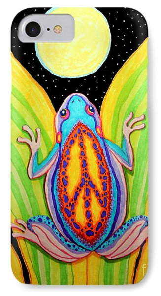 Peacefrog Full Moon IPhone Case