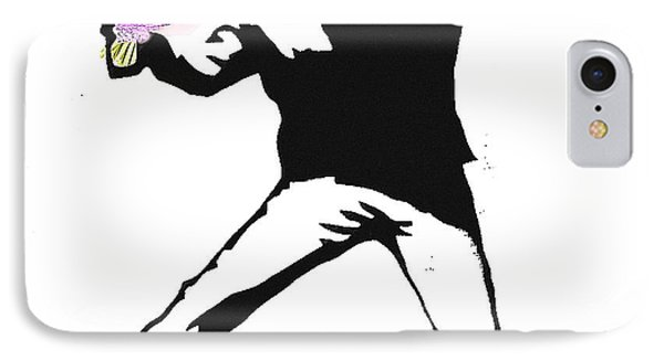 Peaceful Activist IPhone Case by Celestial Images