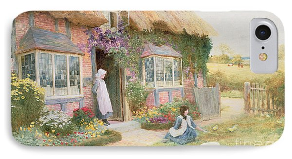 Peaceful Afternoon IPhone Case by Arthur Claude Strachan