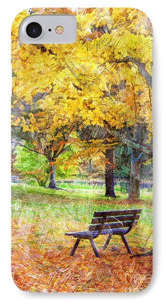 Peaceful Autumn Phone Case by Darren Fisher
