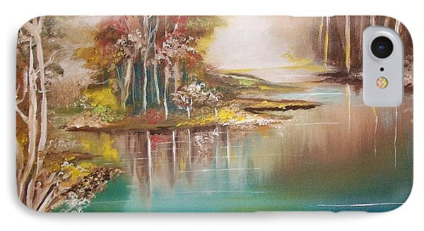 Peaceful Bayou IPhone Case by Nereida Rodriguez