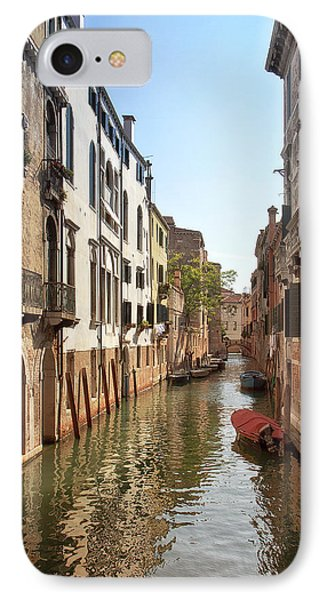 IPhone Case featuring the photograph Peaceful Canal by Kim Andelkovic
