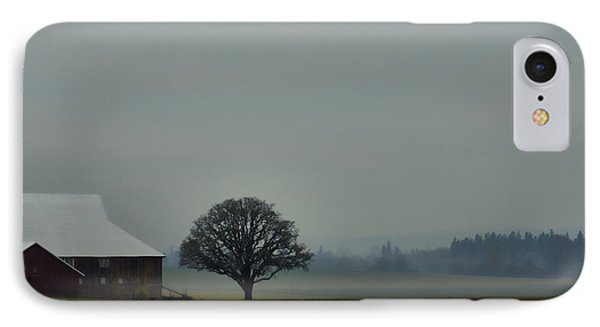 Peaceful Country Morning IPhone Case by Don Schwartz