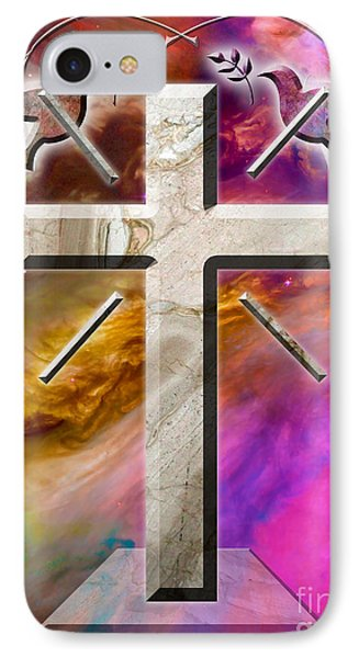Peaceful Doves IPhone Case by Phill Petrovic