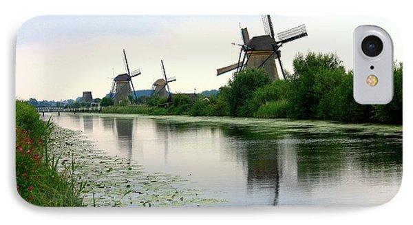 Peaceful Dutch Canal Phone Case by Carol Groenen