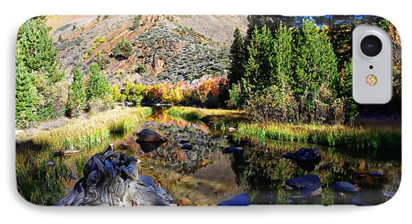 Peaceful Fall Morning IPhone Case by Scott McGuire
