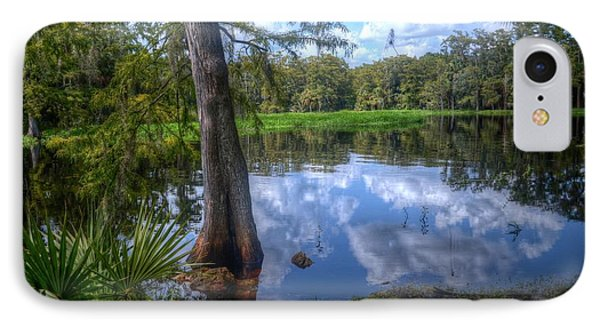 Peaceful Florida IPhone Case by Timothy Lowry