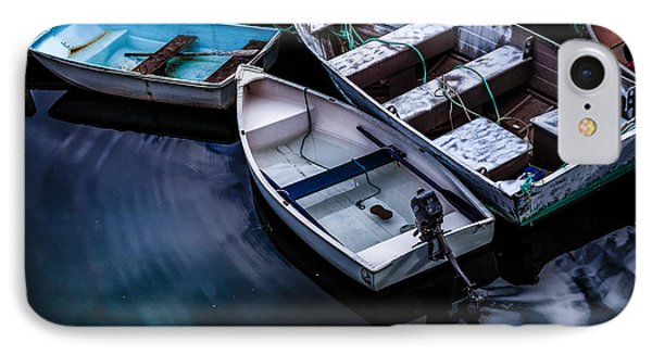 Peaceful Harbor IPhone Case by Diane Diederich