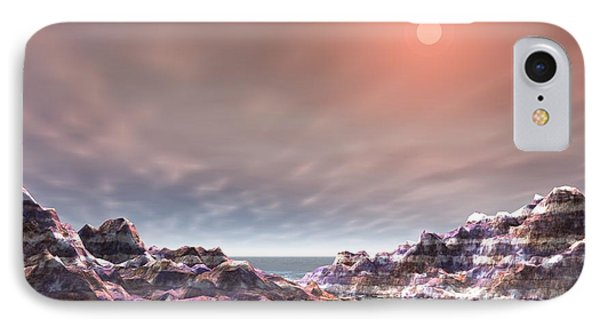 IPhone Case featuring the digital art Peaceful by Jacqueline Lloyd