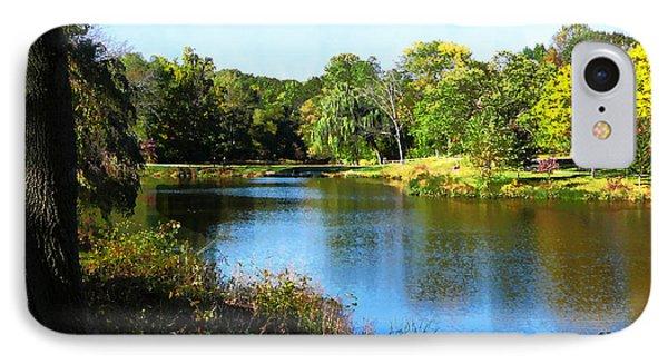 Peaceful Lake Phone Case by Susan Savad