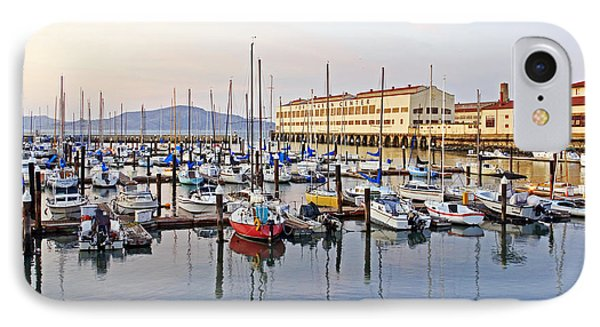 IPhone Case featuring the photograph Peaceful Marina by Kate Brown