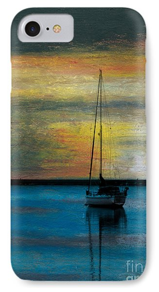 Peaceful Mooring IPhone Case by R Kyllo