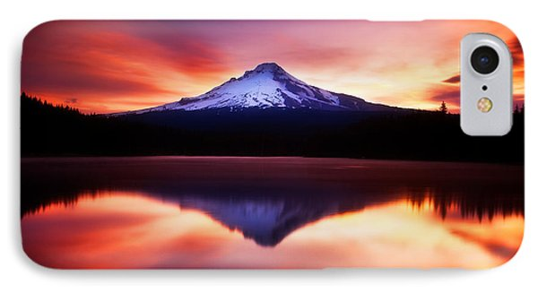 Peaceful Morning On The Lake Phone Case by Darren  White