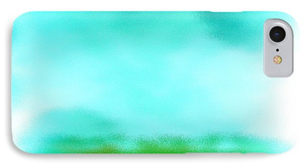 IPhone Case featuring the digital art Peaceful Noise by Anita Lewis