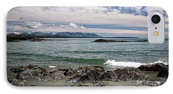 Peaceful Pacific Beach IPhone Case by Richard Farrington