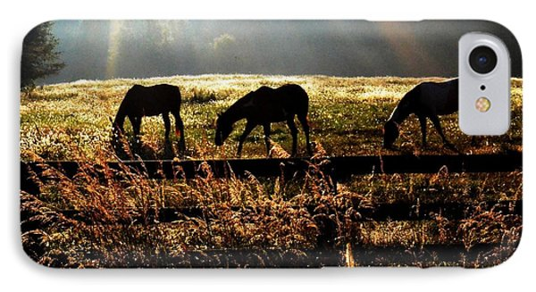 Peaceful Pasture IPhone Case by Carlee Ojeda