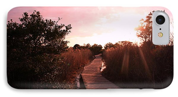 IPhone Case featuring the photograph Peaceful Path by Karen Silvestri