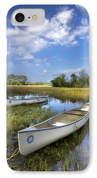 Peaceful Prairie Phone Case by Debra and Dave Vanderlaan