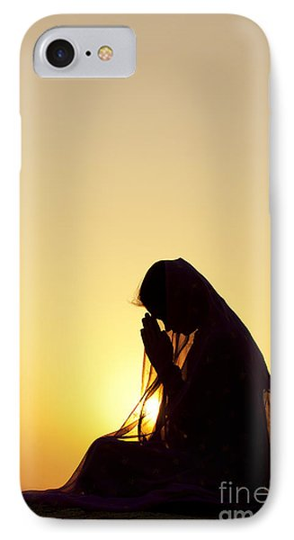 Peaceful Prayer IPhone Case by Tim Gainey