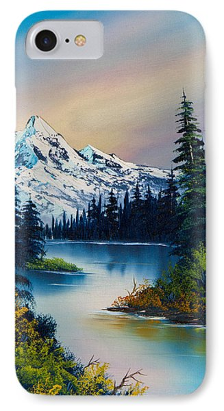 Tranquil Reflections IPhone Case by C Steele