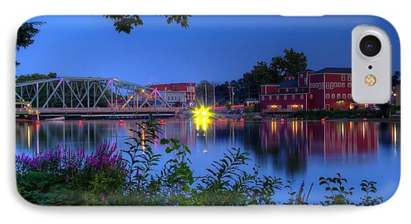 Peaceful River IPhone Case by Dave Files