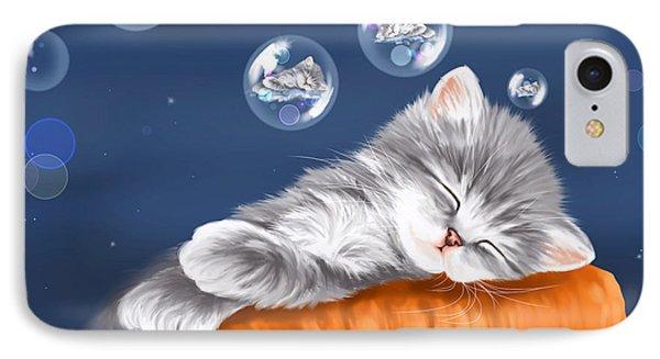 Peaceful Sleep IPhone Case
