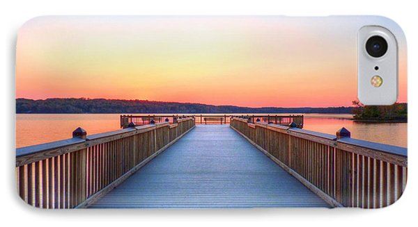 Peaceful Spot Phone Case by JC Findley