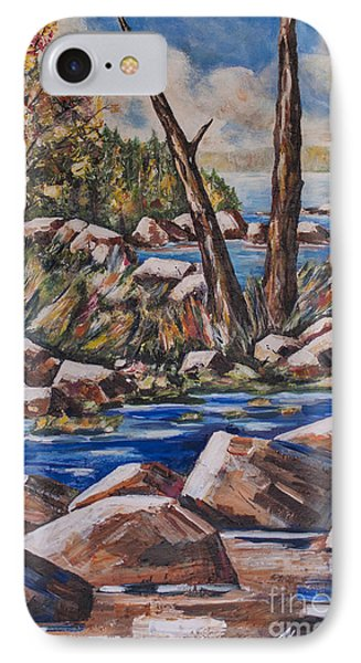 Peaceful Stream Phone Case by Heather Kertzer