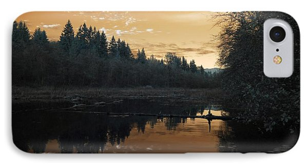 IPhone Case featuring the photograph Peaceful Sunset by Rebecca Parker