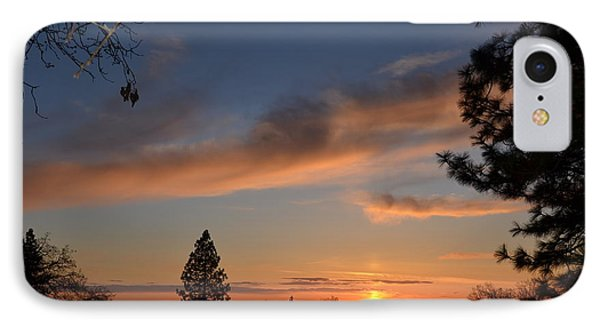 Peaceful Sunset IPhone Case by Tom Mansfield