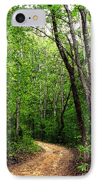 Peaceful Walk IPhone Case by Lydia Holly
