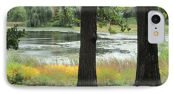 Peaceful Water IPhone Case by Kathie Chicoine