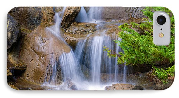IPhone Case featuring the photograph Peaceful Waterfall by Jordan Blackstone