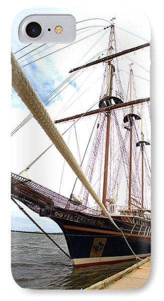 IPhone Case featuring the photograph Peacemaker by Gordon Elwell