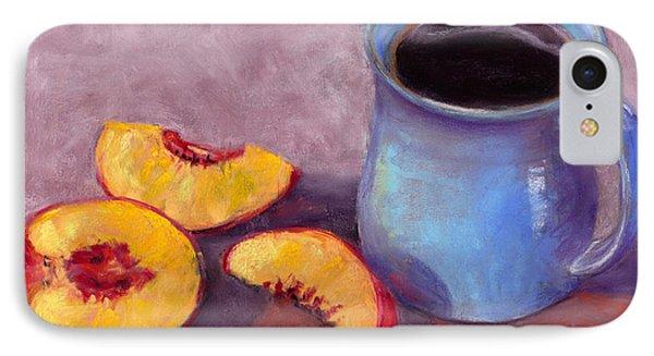 IPhone Case featuring the pastel Peach Break by Julie Maas