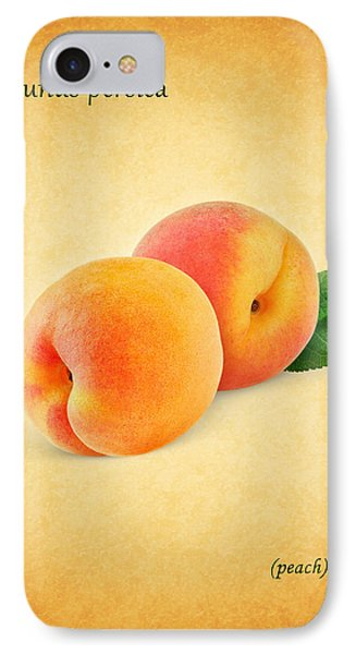 Peach IPhone Case by Mark Rogan