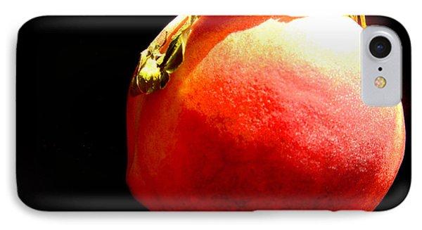 Peach Mohawk Phone Case by Susan Duda