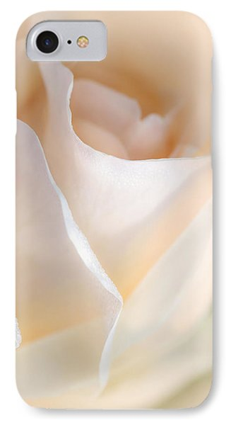 Peaches And Cream Rose Flower Phone Case by Jennie Marie Schell