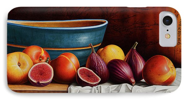 Peaches And Figs IPhone Case by Horacio Cardozo