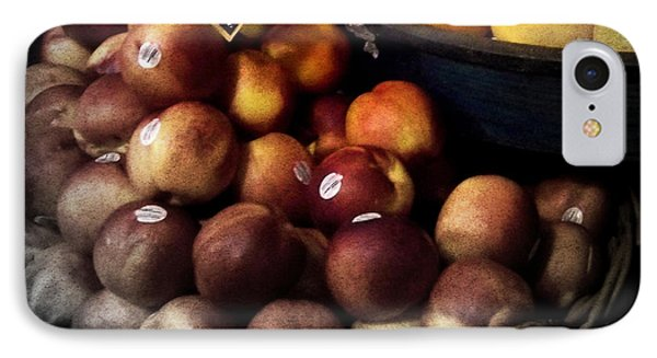 Peaches And Lemons Antique Phone Case by Miriam Danar