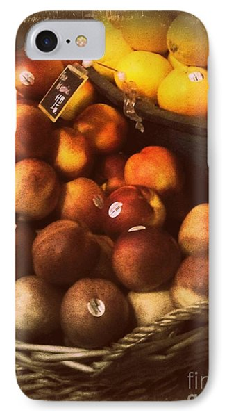 Peaches And Lemons - Old Photo - Top Finisher Phone Case by Miriam Danar